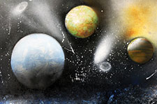 Paint Planets