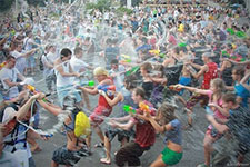 Water Wars: Teens vs. Librarians